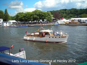 Lady Lucy and Gloriana