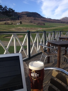 Pitlochry Golf Club. Temporary HQ or the Pension Plowman