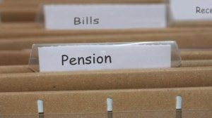 unage of pension