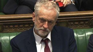 Corbyn in parliament