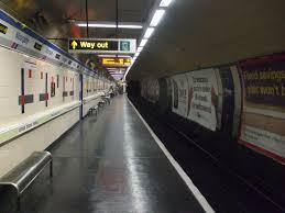 empty platform
