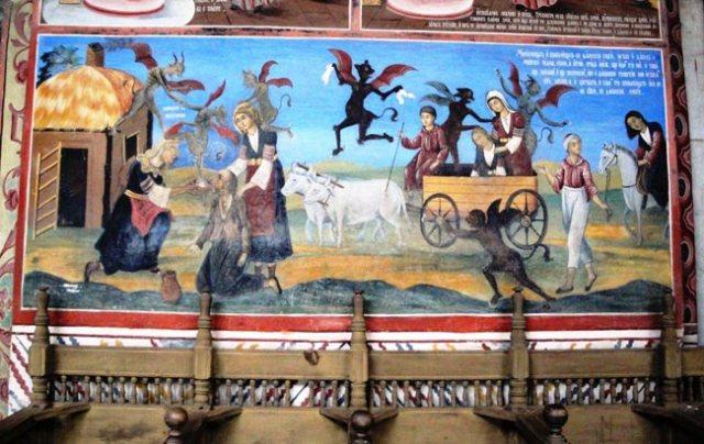Hell-in-a-handcart---Rila-Monastery