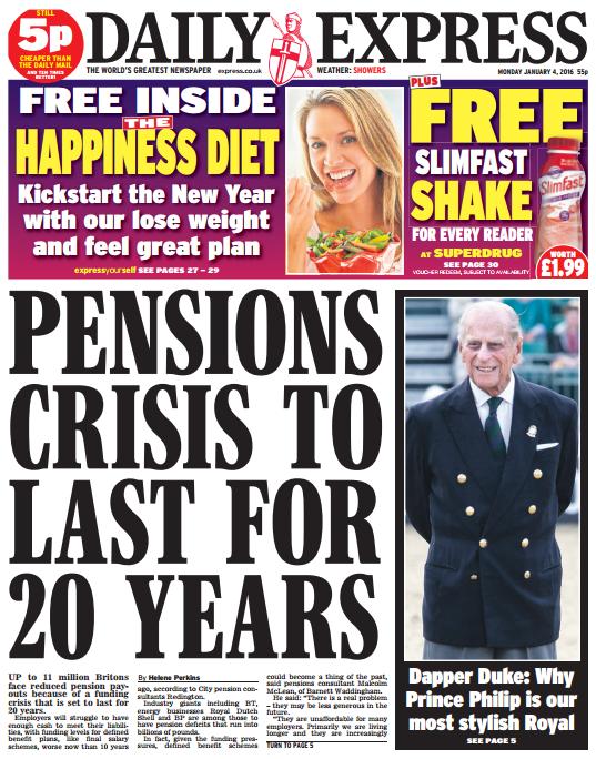 pensions crisis