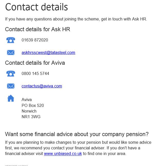 Contact Tata