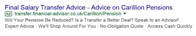 carillion scam