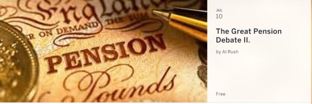 pension debate