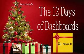 12 days of dashboard